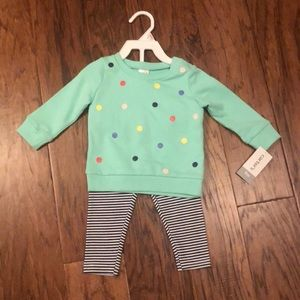 NWT Carter's 9 month outfit
